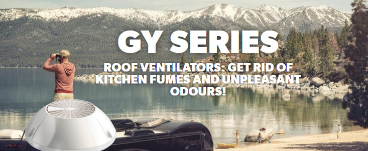 Dometic GY Series Roof Vents