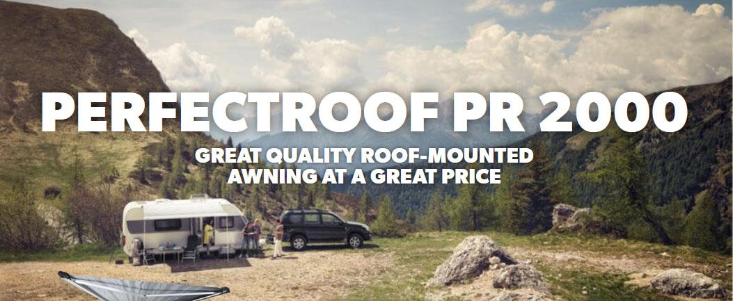 PerfectRoof PR2000 for Caravans