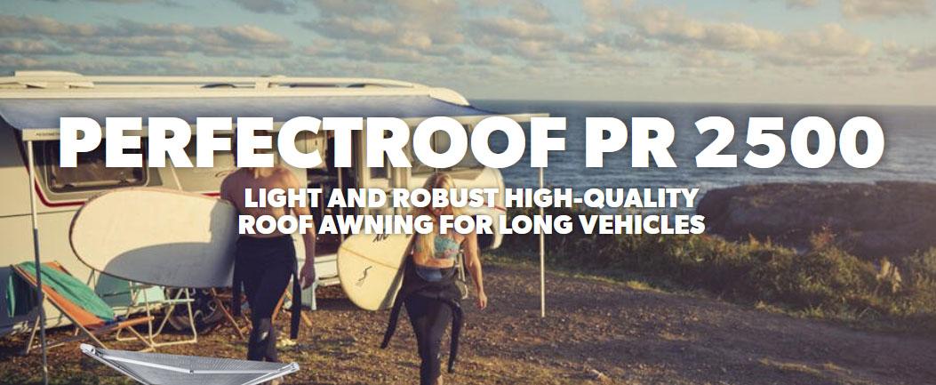PerfectRoof PR2500 for Caravans