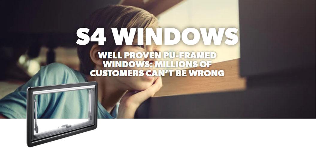 Dometic S4 Windows